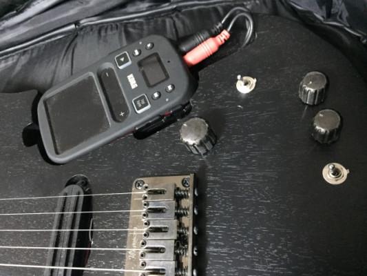 Ibanez RgKP6 (Guitarra + Korg mini Kaoss pad)