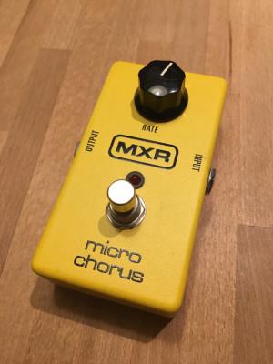 Pedal MXR Micro Chorus M148.