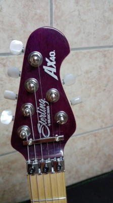 Sterling by Music Man AXIS AX40D Trans Purple
