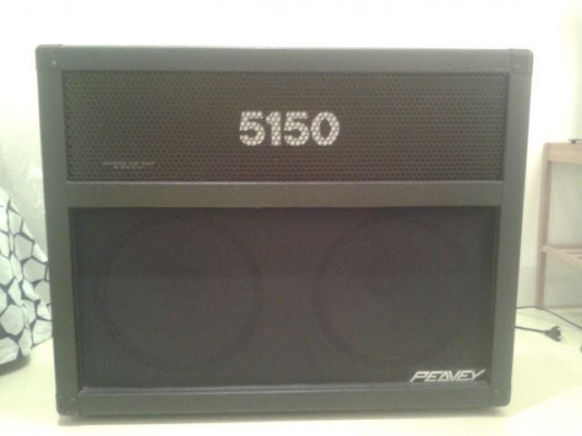 O CAMBIO (ojo a los cambios) Peavey 5150 combo 60 W Block Logo Americano