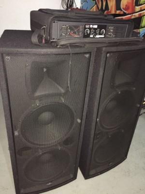 DAS 2 X 15 + DAS PS-1400