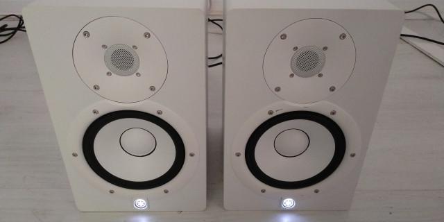 Pareja Monitores Yamaha Hs7 blancos perfectos