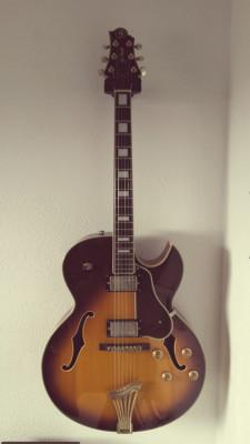Guitarra Greg Bennet modelo Lasalle JZ3 Sunburst