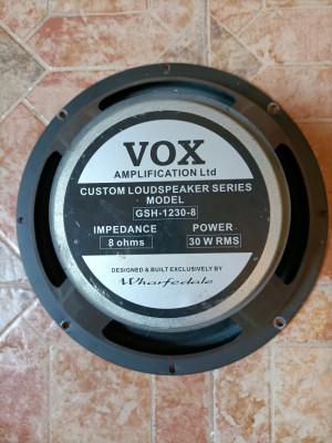 Vox AC30 altavoces Wharfedale GSH 1230-8