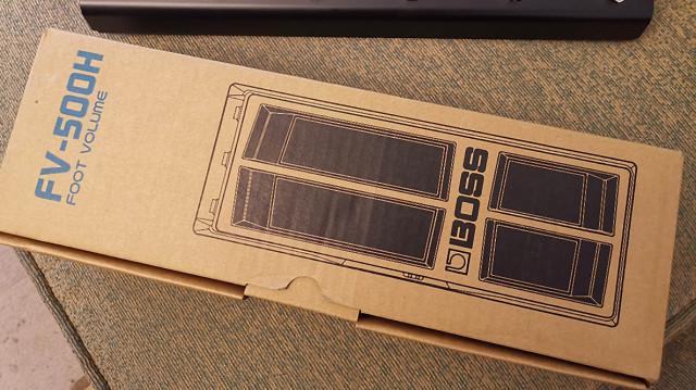 Vendo Pedal FV-500H para amplificadores Boss Katana