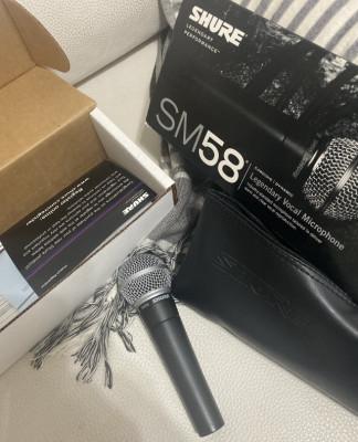 Micrófono SHURE SM58 (VENDIDO)