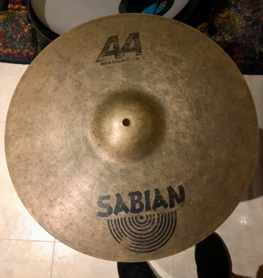 Plato Sabian AA Rock crash 18""