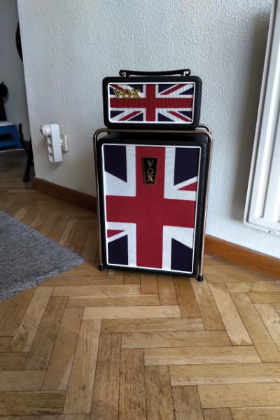 Vox Mini Superbeetle Union Jack con Cordial CXI 6PP Sky 6m