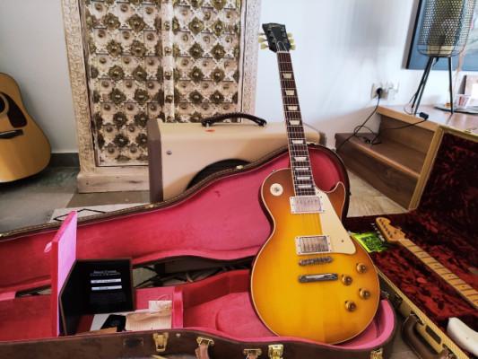Gibson CS 1958 Les Paul Standard Reissue Vos, Lemon Burst (Reservada)