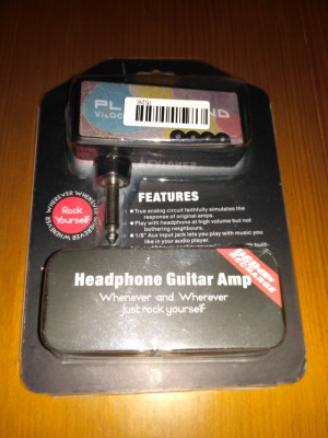 Plexi amplificador guitarra eléctrica para cascos