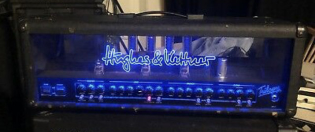 Cabezal Amplificador Válvulas H&K Trilogy 100W
