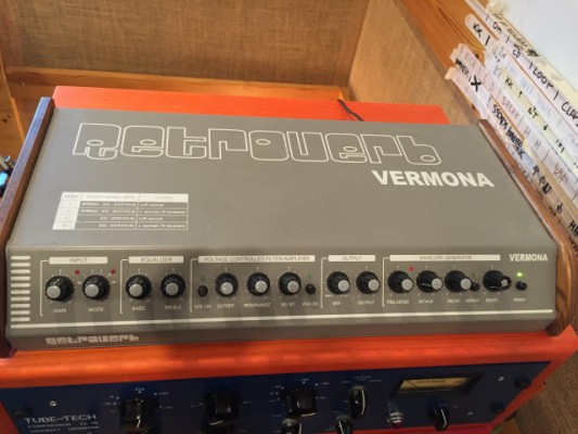 Vermona Retroverb Muelles/Spring reverb