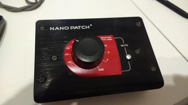 Control de Monitores passivo Nano Patch +
