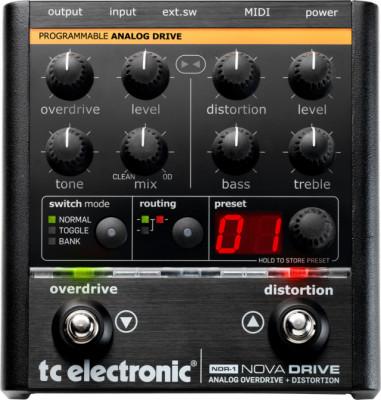 Pedal TC ELECTRONIC NOVA DRIVE