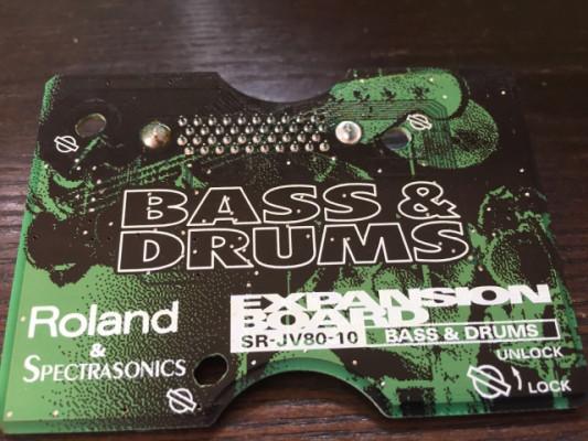 Tarjeta Roland Bass & Drums