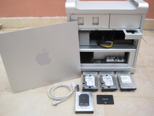 Mac Pro 4.1 hasta gráfica 2Gb, 6 núcleos y 32Gb RAM