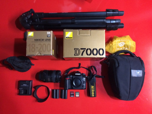 Camara fotografica Nikon D7000