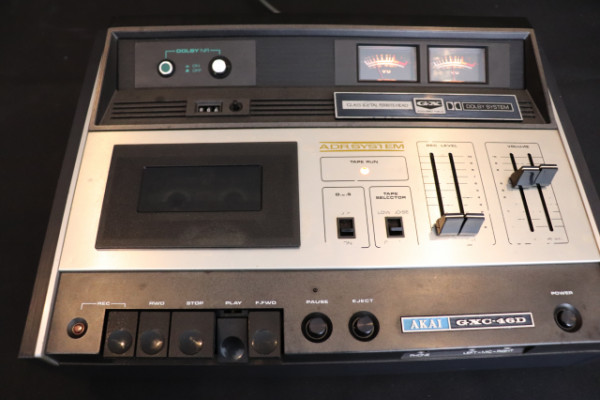 AKAI GXC-46D Grabador Vintage de cassette, año 1972