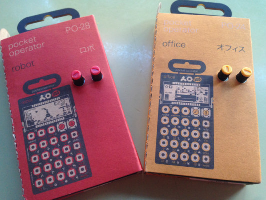 Pocket Operator PO-24 Office y PO-28 Robot