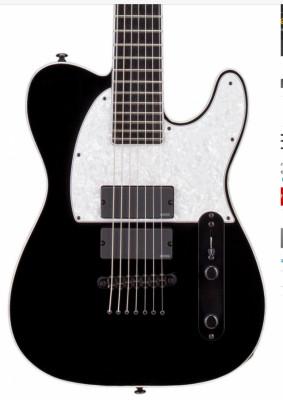 ESP LTD SCT-607B Baritone Stephen Carpenter Signature Black