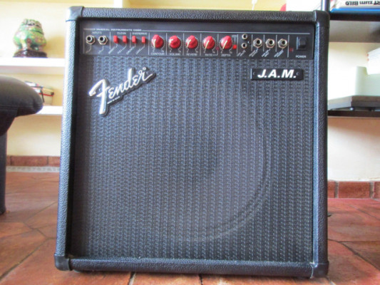 Fender J.A.M. Made In USA. Amplificador vintage 1990