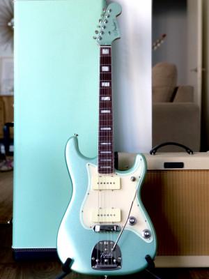Fender paralell universe ll jazz Stratocaster mystic surf green