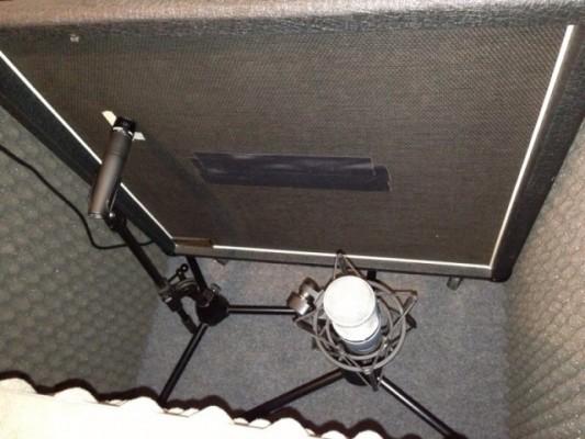 Iso cab de Vocalbooth para amplificador de guitarra