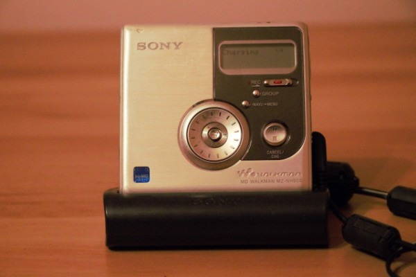 Minidisc Sony MZ-NH900 Walkman