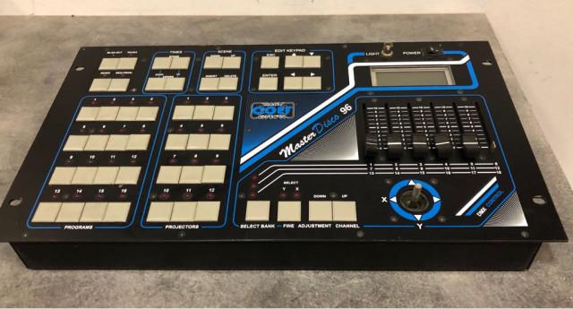 Mesa iluminacion dmx Coef master disco 96