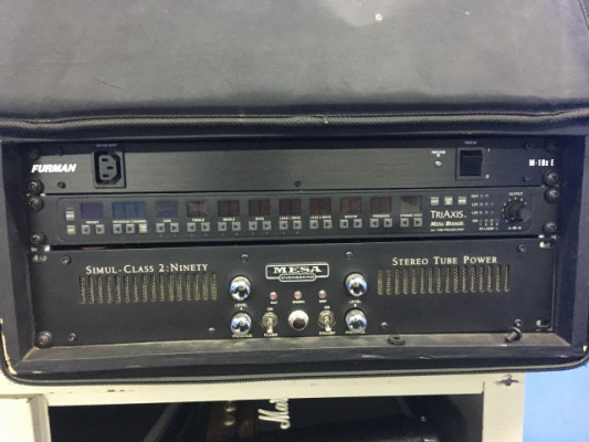 Etapa mesa boogie, triaxis y g force