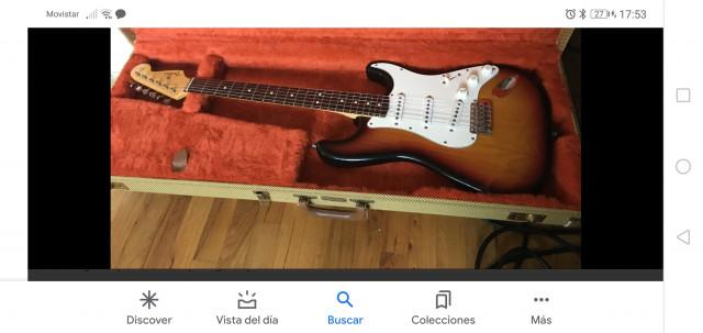 Fender stratocaster American vintage 62 avri, compro..