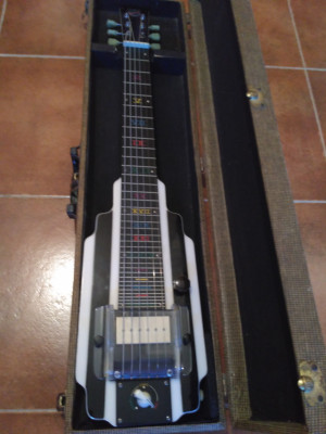 NATIONAL NEW YORKER LAP STEEL por stratocaster USA/casino...