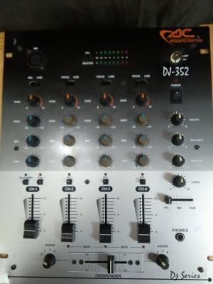 ACOUSTIC CONTROL  DJ 352 MEZCLADOR