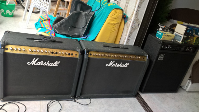 marshall valvestate 8080 y valvestate 265