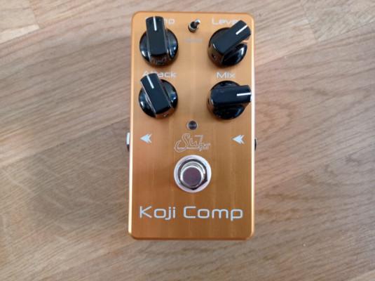 Suhr Koji Comp, compresor para guitarra muy top
