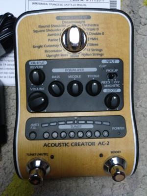 Zoom AC2, DI para acústica