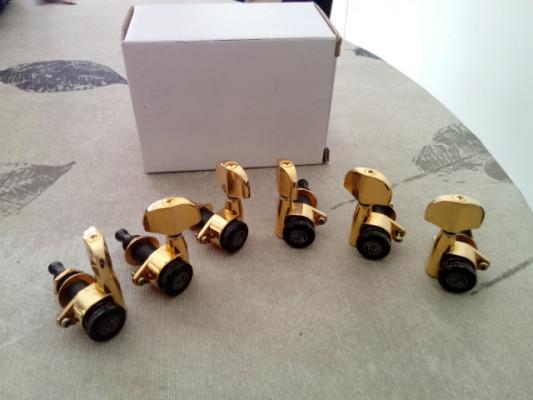 Clavijero Planet Waves Auto-Trim Tuning Machines 3+3 gold