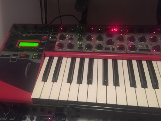 Nord lead 3 teclado