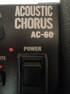 Amplificador de acústica Roland AC60