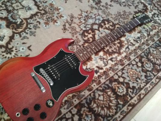 ¡Rebaja temporal! Gibson SG Faded 2008 Worn Cherry