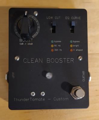 Thundertomate Clean Booster (previo del mítico delay Korg SDD3000)