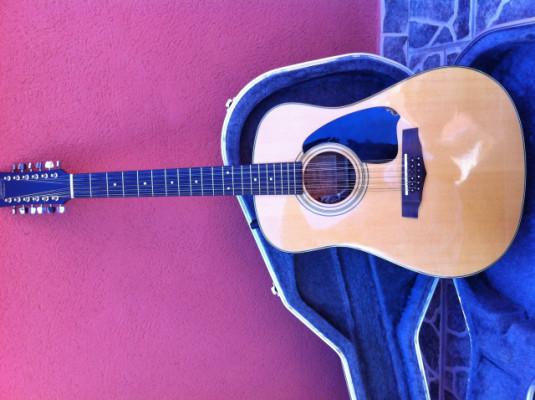 Guitarra acústica de 12 cuerdas amplificada Ibanez