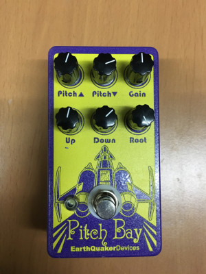 EARTHQUAKER DEVICES Pitch Bay Armonizador NUEVO