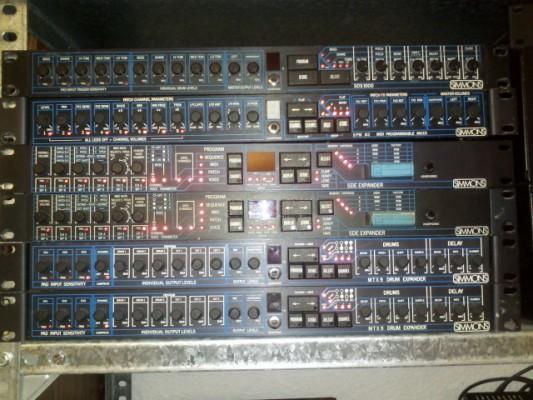 Simmons SDE Expander y MTX9 Drum Expander