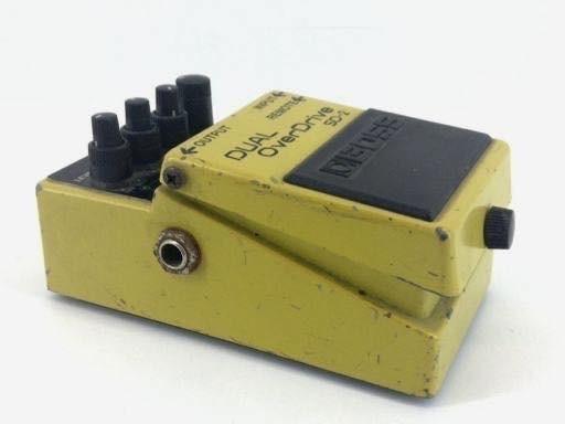 Pedal de guitarra dual overdrive sd2