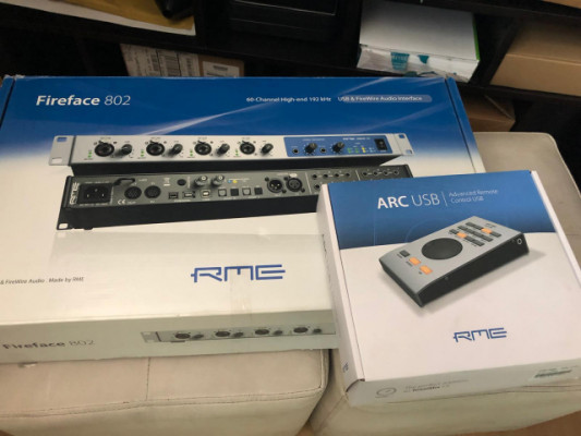 RME 802 (4 meses de uso)