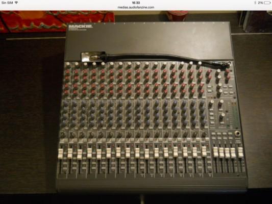 Mackie 1604 VLZ. Por 350€ recien revisada.