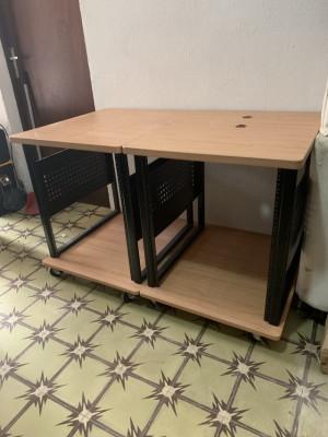 2x Mueble de estudio StudioRTA Producer Cart