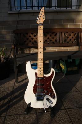 ESP LTD mw 600 signature Michael Wilton modificada.