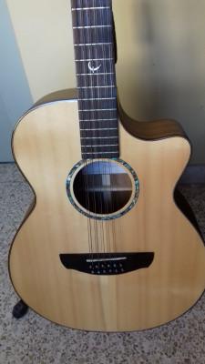 Guitarra electro acústica 12 cuerdas Faith Trembesi FV12TB Venus